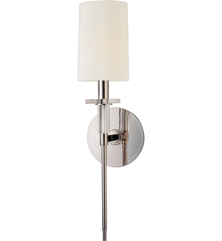 Hudson Valley - 8511-PN - Amherst Polished Nickel 1 Light Wall Sconce