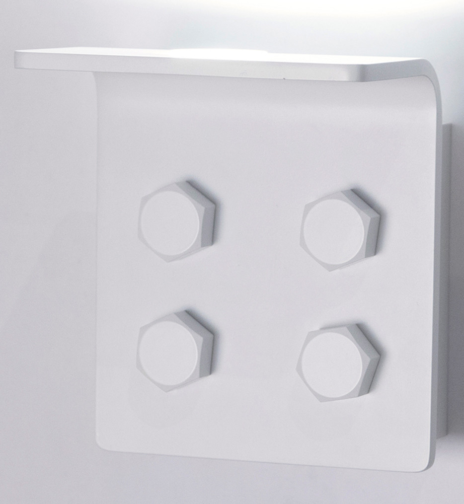 Innermost - WB0783-01 - Bolt Matte White Wall Sconce