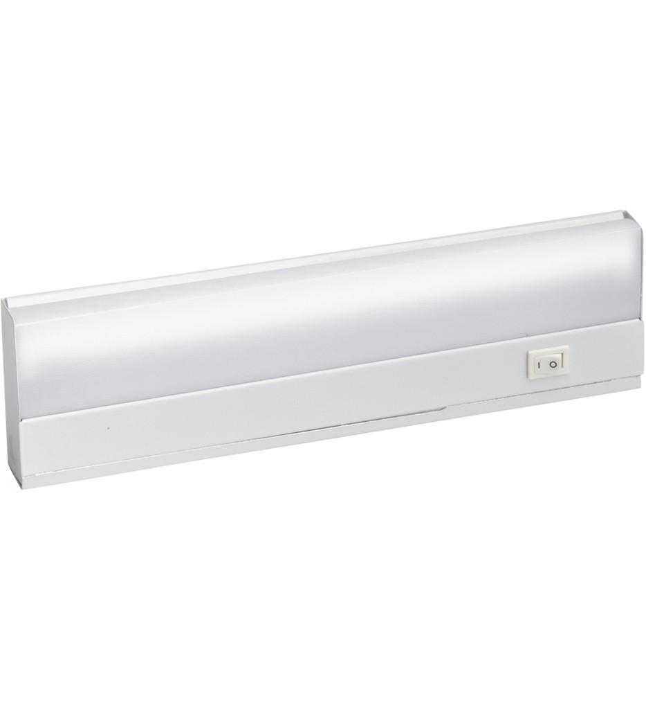 Kichler - 10041WH - Direct Wire Fluorescent White 12 Inch Cabinet Light Bar
