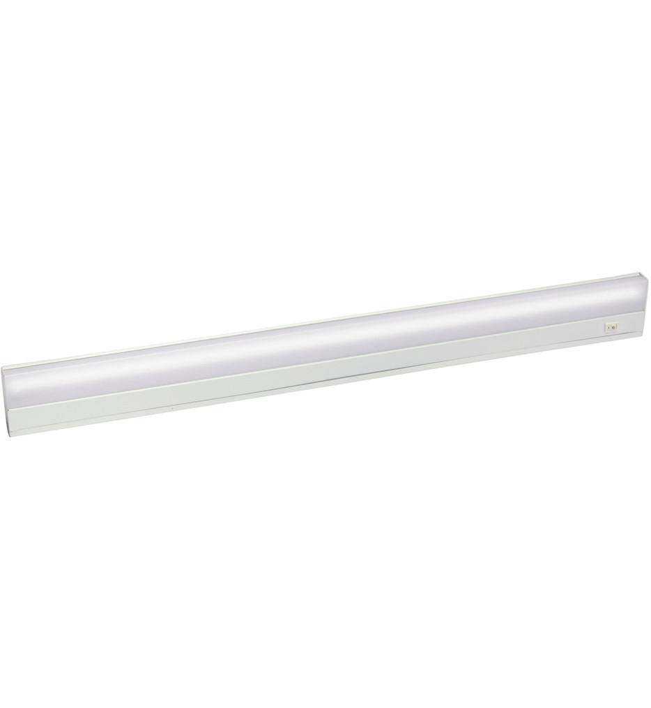 Kichler - 10043WH - Direct Wire Fluorescent White 33 Inch Cabinet Light Bar