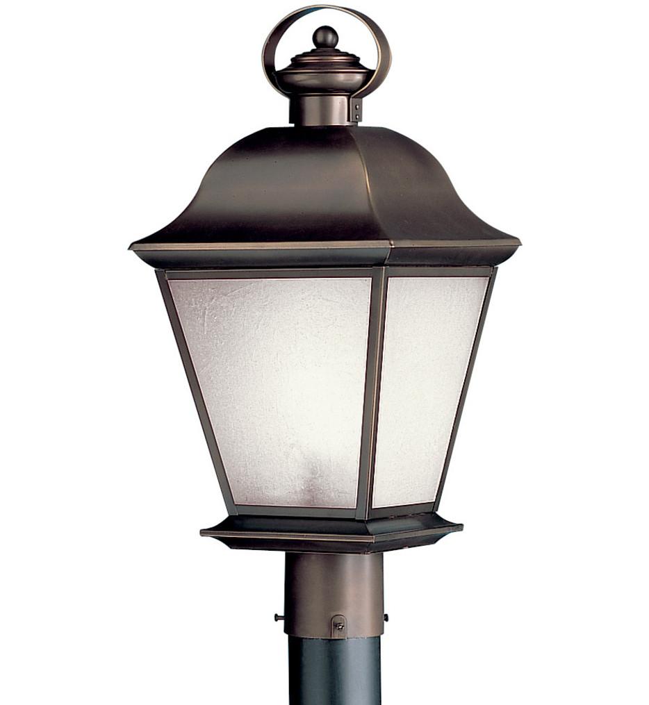Kichler - 10911OZ - Mount Vernon Olde Bronze 9.5 Inch 1 Light Outdoor Post Lantern