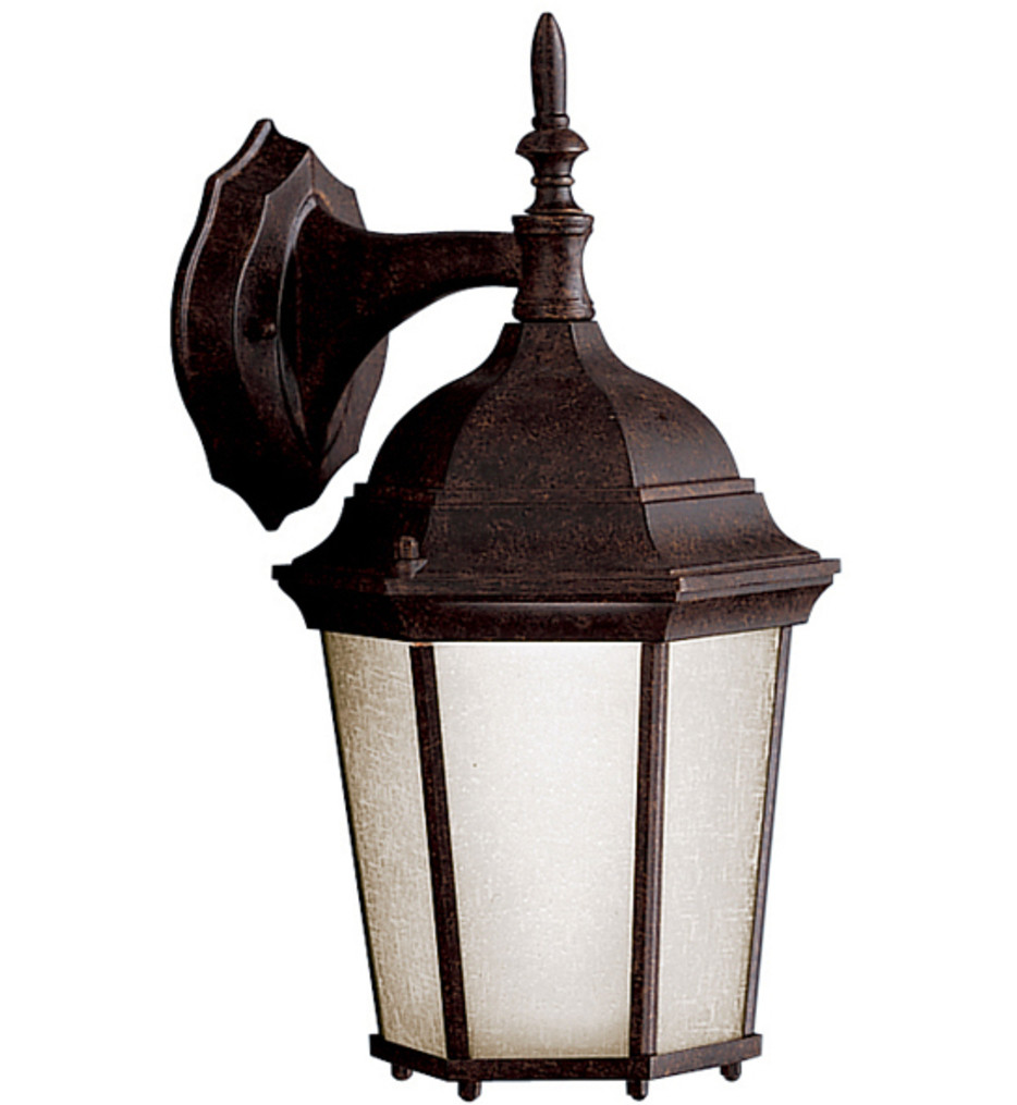 Kichler - 10950TZ - Madison Tannery Bronze 14.75 Inch 1 Light CFL Outdoor Wall Sconce