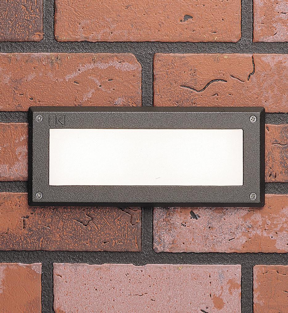 Kichler - 15074AZT - Landscape Textured Architectural Bronze 9.5 Inch 2 Light Outdoor Step Light