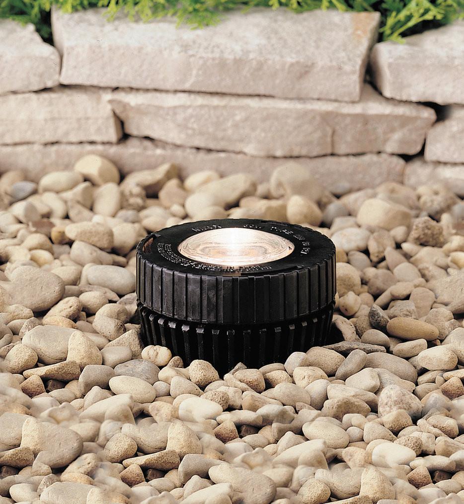 Kichler - 15190BK - Landscape Black 5 Inch In-Ground Light