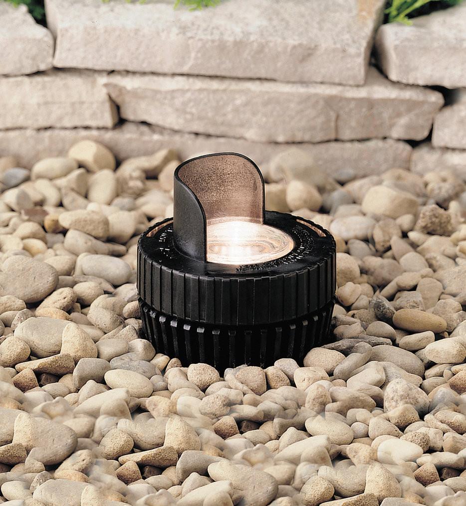 Kichler - 15192BK - Landscape Black 4.1 Inch In-Ground Light