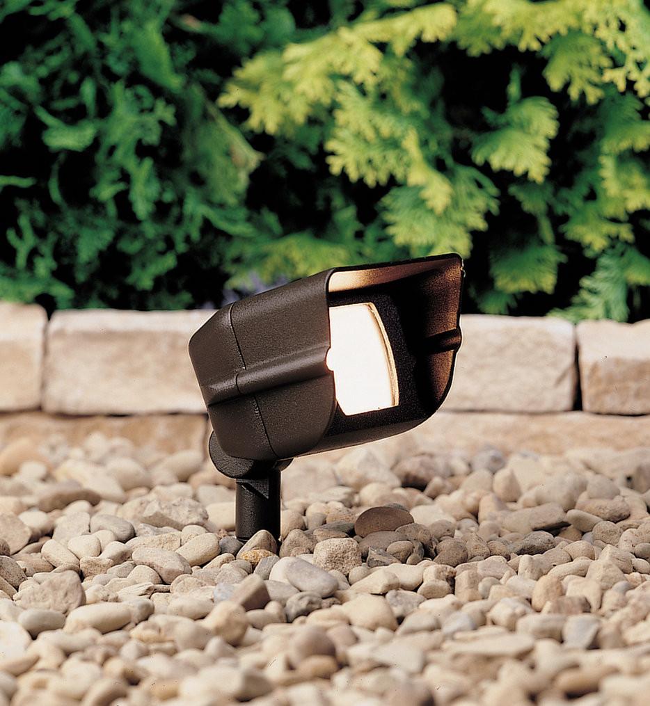 Kichler - 15385AZT - Landscape Textured Architectural Bronze 5.91 Inch Landscape Accent Light