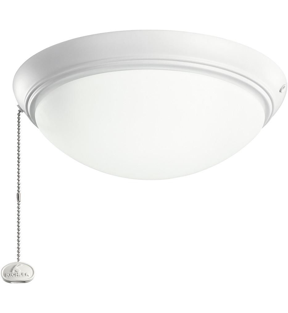 Kichler - Builder Fans Light Low Profile LED Fan Light Kit