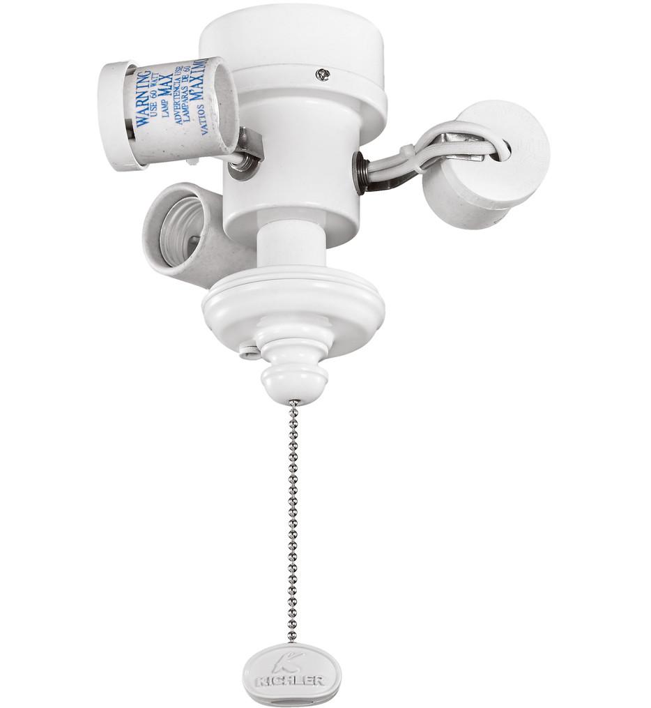 Kichler - 350003 - White 3 Light CFL Bowl Fitter