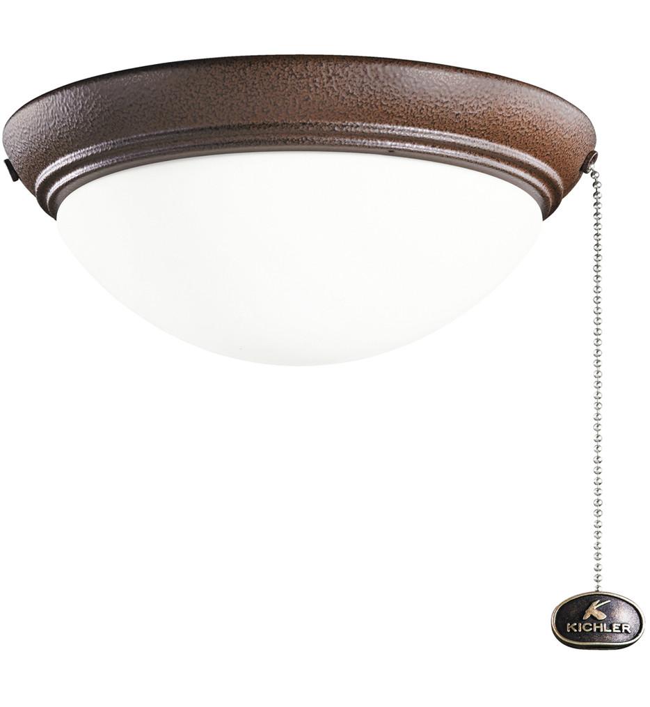 Kichler - Builder Fans 9 Inch 2 Light Low Profile Fan Light Kit