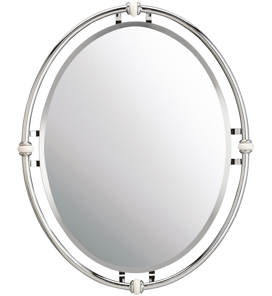 Kichler - 41067CH - Pocelona Chrome 30 Inch Mirror