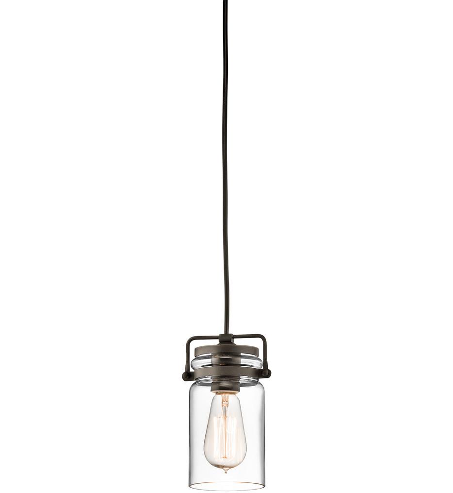 Kichler - Brinley 7.75 Inch 1 Light Mini-Pendant