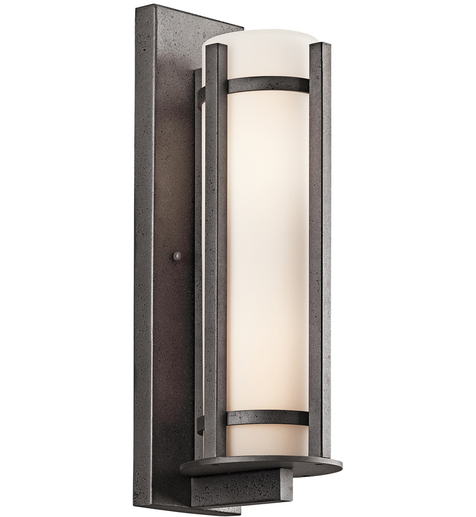 Kichler - Camden Anvil Iron 26 Inch 3 Light Outdoor Wall Sconce