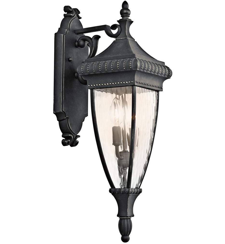 Kichler - Venetian Rain 25.25 Inch 2 Light Outdoor Wall Sconce