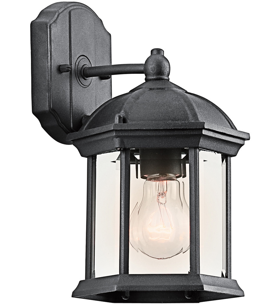 Kichler - Barrie 10.25 Inch 1 Light Outdoor Wall Sconce