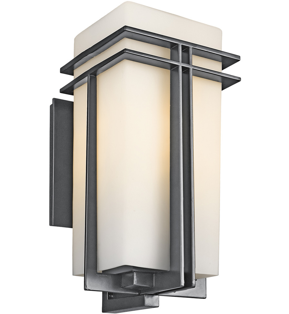 Kichler - Tremillo Black 20.25 Inch 1 Light Outdoor Wall Sconce