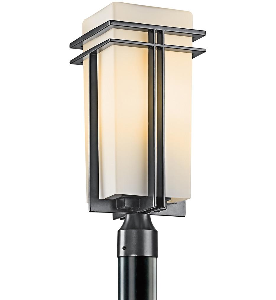 Kichler - Tremillo Black 20 Inch 1 Light Outdoor Post Lantern