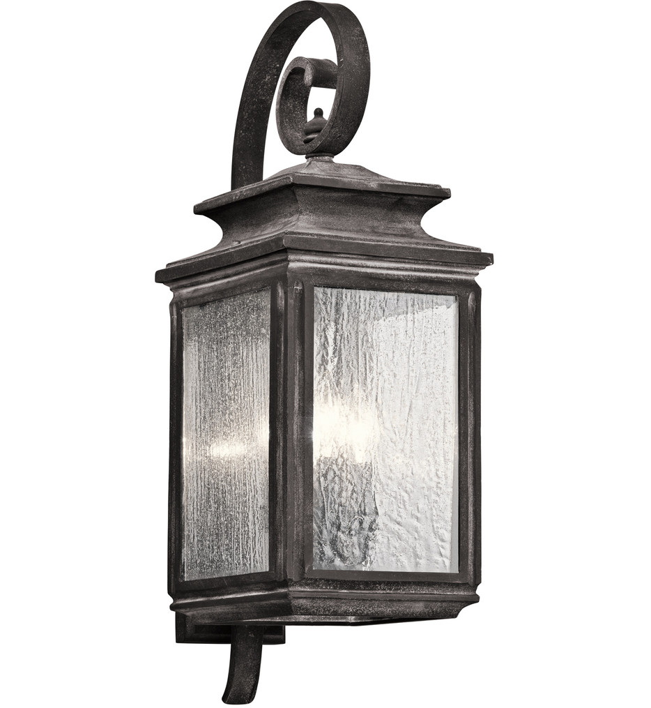 Kichler - Wiscombe Park 26.25 Inch 4 Light Outdoor Wall Sconce