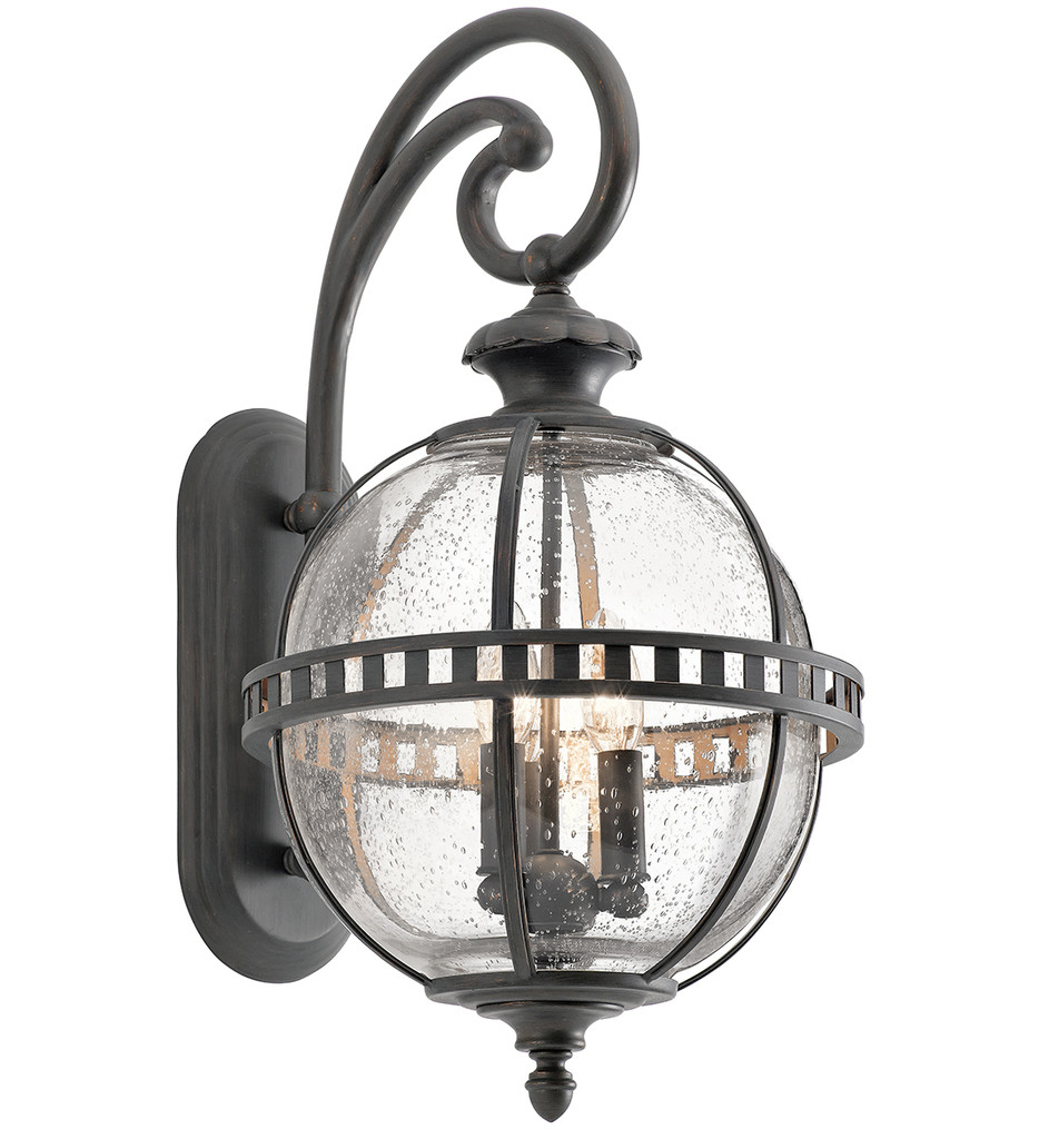 Kichler - 49601LD - Halleron Londonderry 12 Inch 3 Light Outdoor Wall Sconce