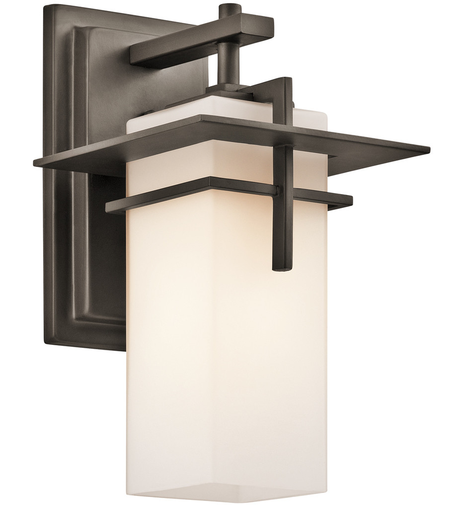 Kichler - 49642OZ - Caterham Olde Bronze 6.5 Inch 1 Light Outdoor Wall Sconce