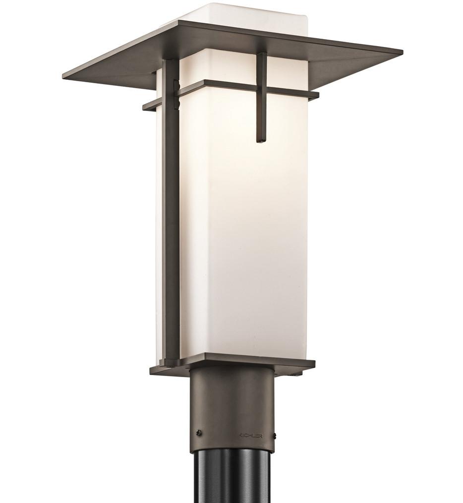 Kichler - 49646OZ - Caterham Olde Bronze 10 Inch 1 Light Outdoor Post Lantern