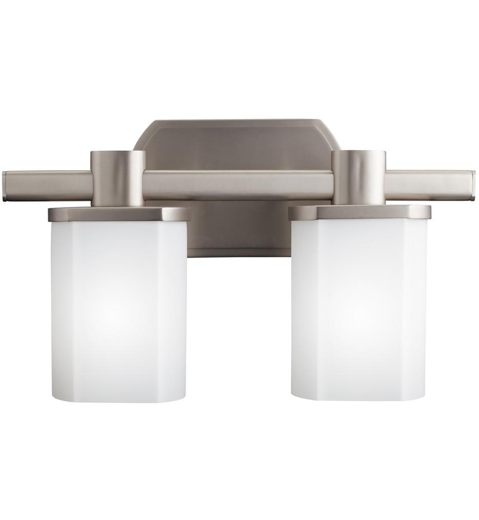Kichler - 5052NI - Lege Brushed Nickel 15.25 Inch 2 Light Bath Vanity Light