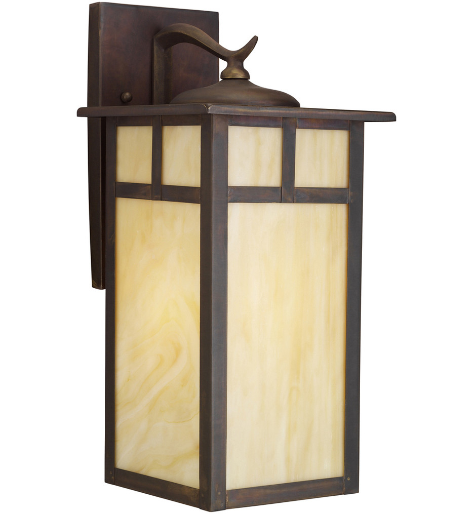 Kichler - 9148CV - Alameda Canyon View 15 Inch 1 Light Outdoor Wall Sconce