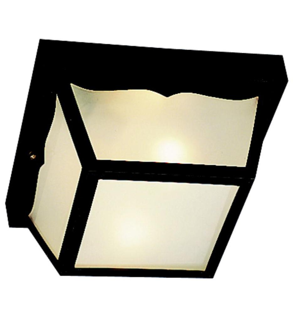 Kichler - Outdoor Plastic Fixtures 2 Light Outdoor Flush Mount