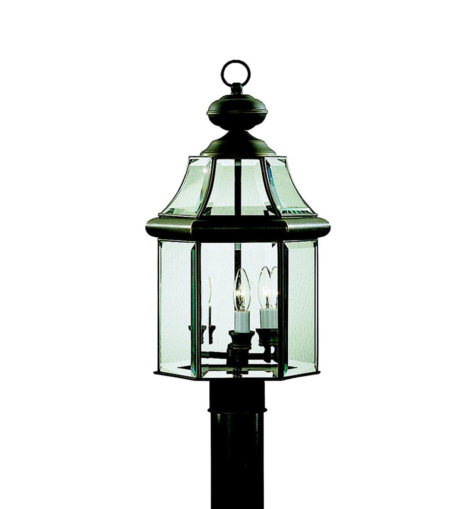 Kichler - Embassy Row 20.75 Inch 3 Light Outdoor Post Lantern