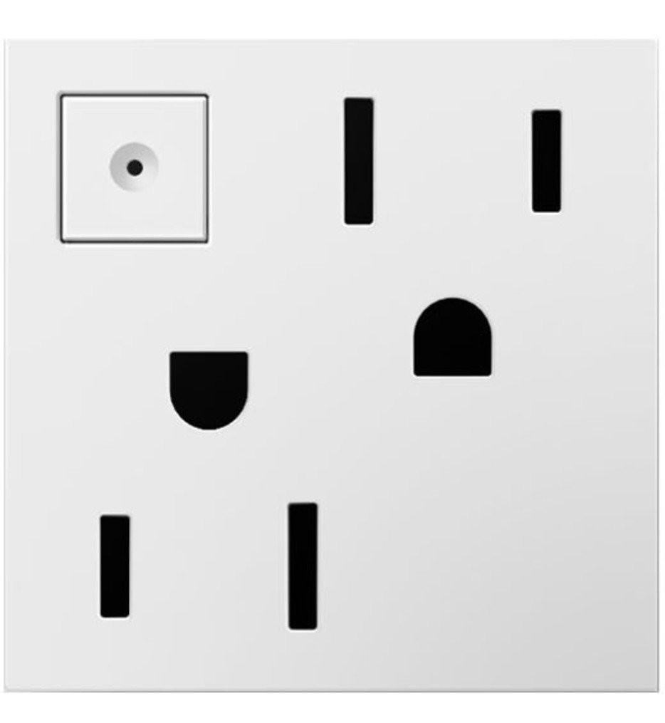 Legrand Adorne - Energy Saving On-Off Outlet