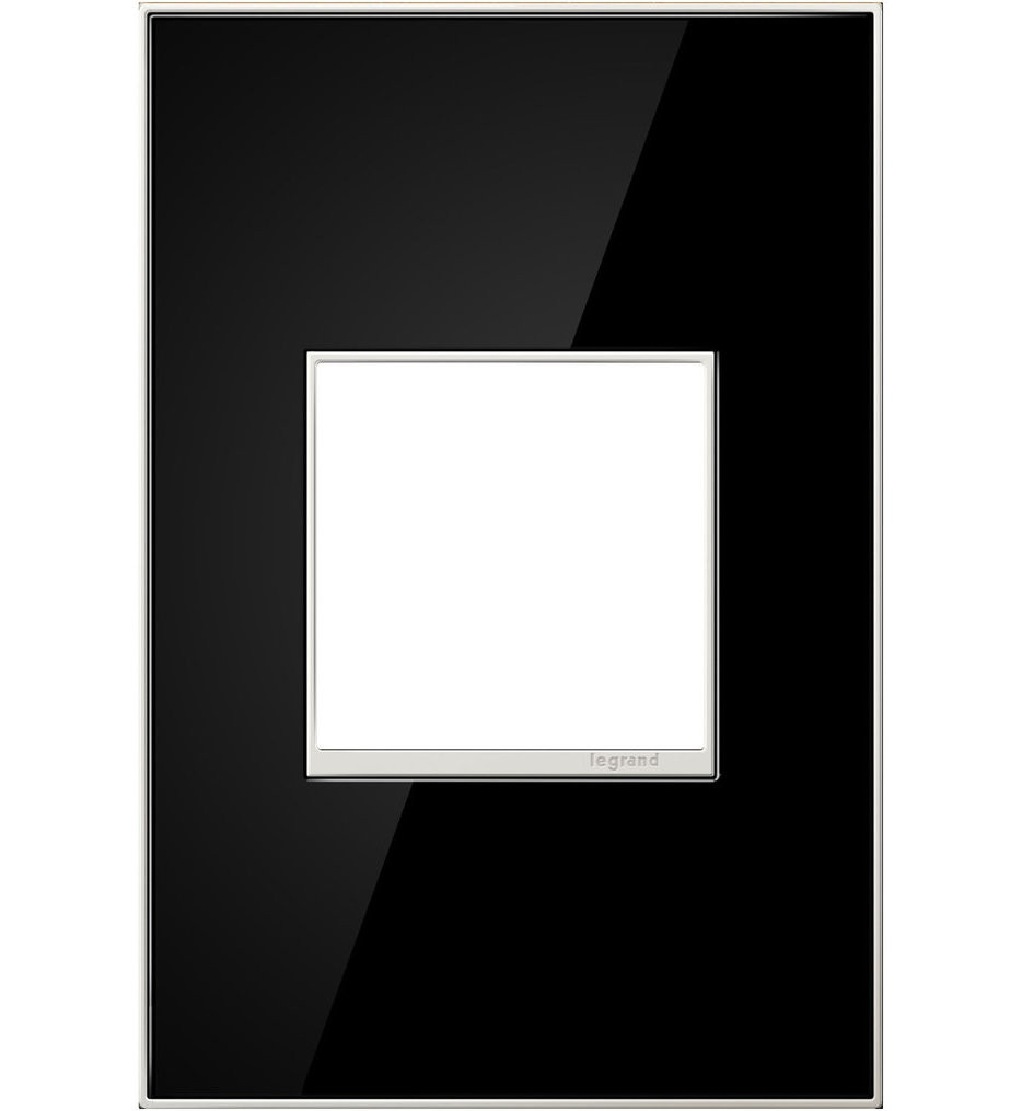 Legrand Adorne - Mirror Black Wall Plate
