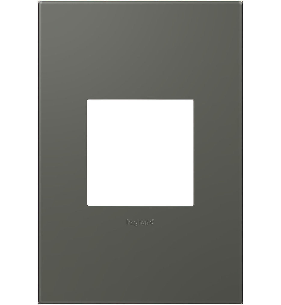 Legrand Adorne - Moss Grey Wall Plate