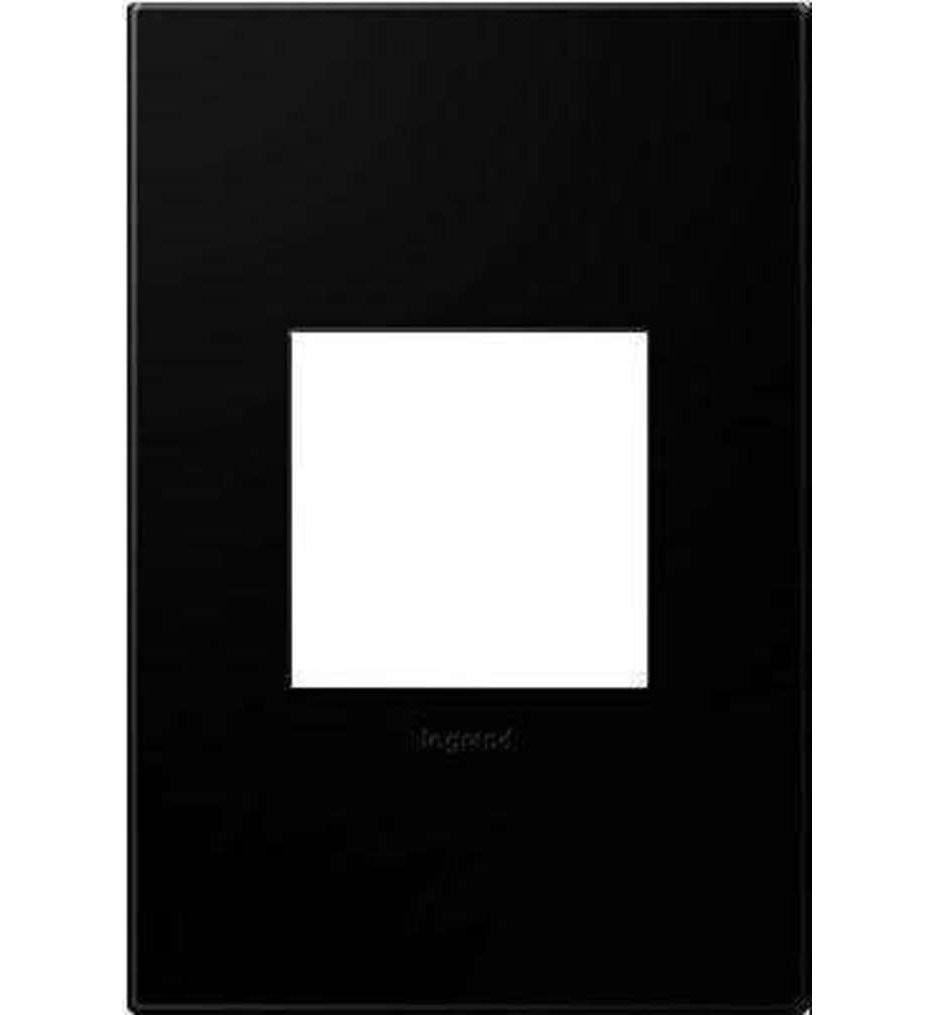 Legrand Adorne - Black Ink Wall Plate