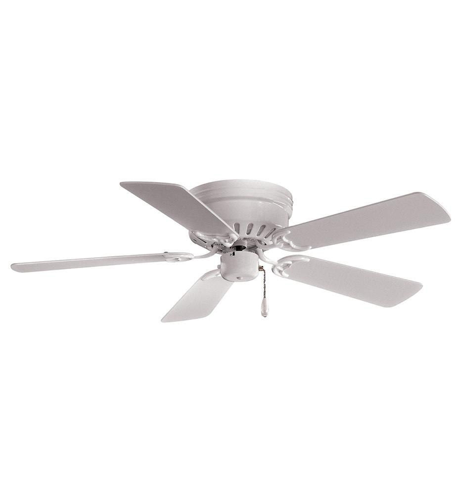Minka-Aire - F566-WH - Mesa 42 Inch White Flush Mount Fan
