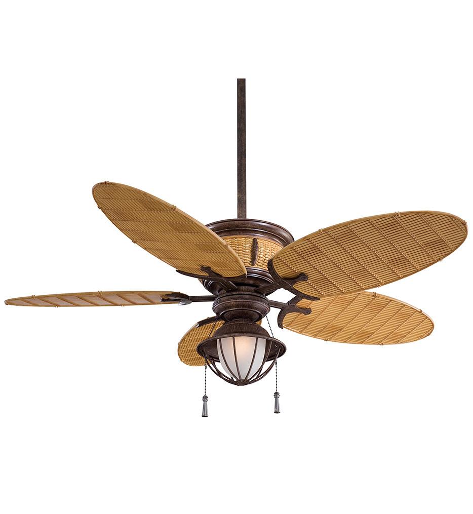 Minka-Aire - F580-VR/BB - Shangri-La 52 Inch Vintage Rust Ceiling Fan