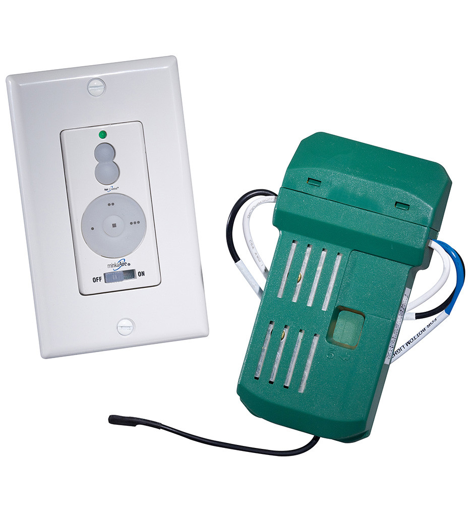 Minka-Aire - WCS223 - Wall Control with Manual Reverse and 256 Bit Canopy Receiver