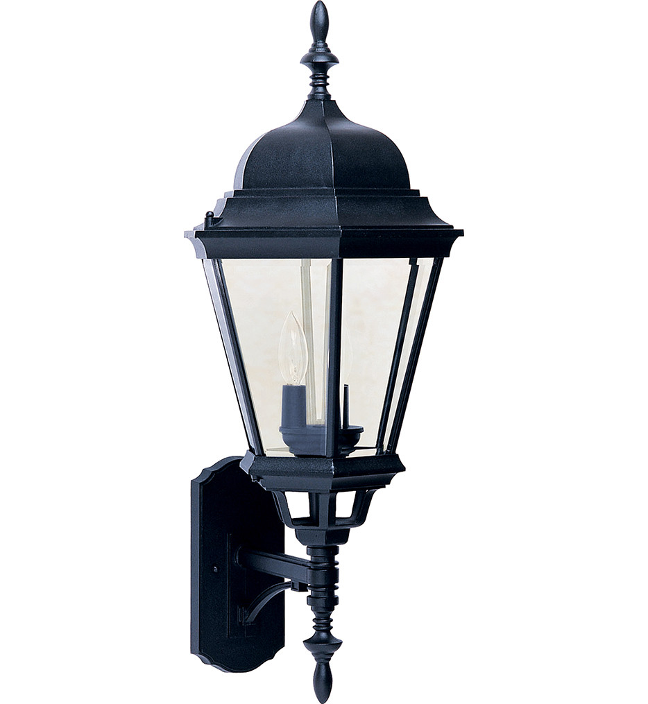 Maxim Lighting - 1006BK - Westlake Cast 3 Light Outdoor Wall Lantern