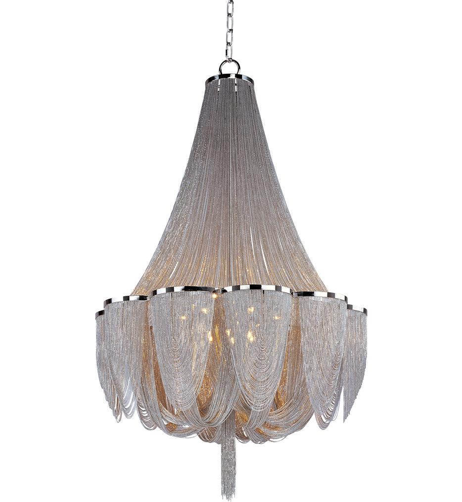 Maxim Lighting - 21468NKPN - Chantilly Polished Nickel 42 Inch 14 Light Pendant