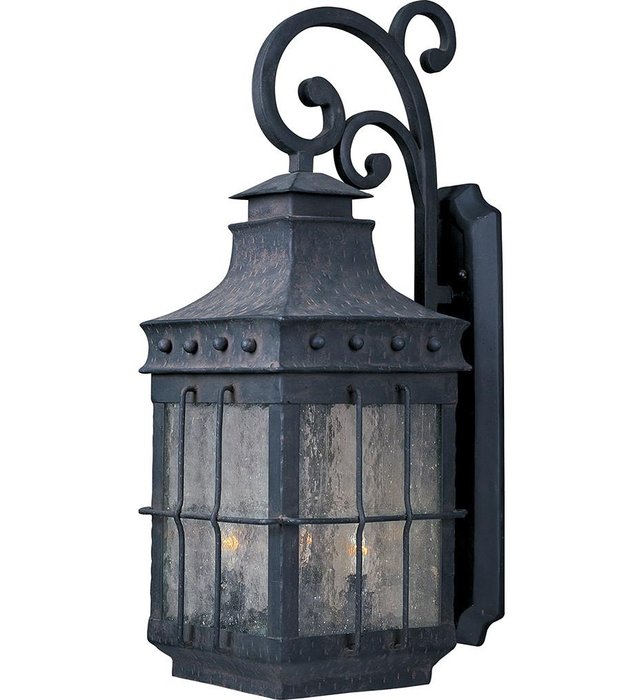 Maxim Lighting - 30085CDCF - Nantucket 4 Light Outdoor Wall Lantern