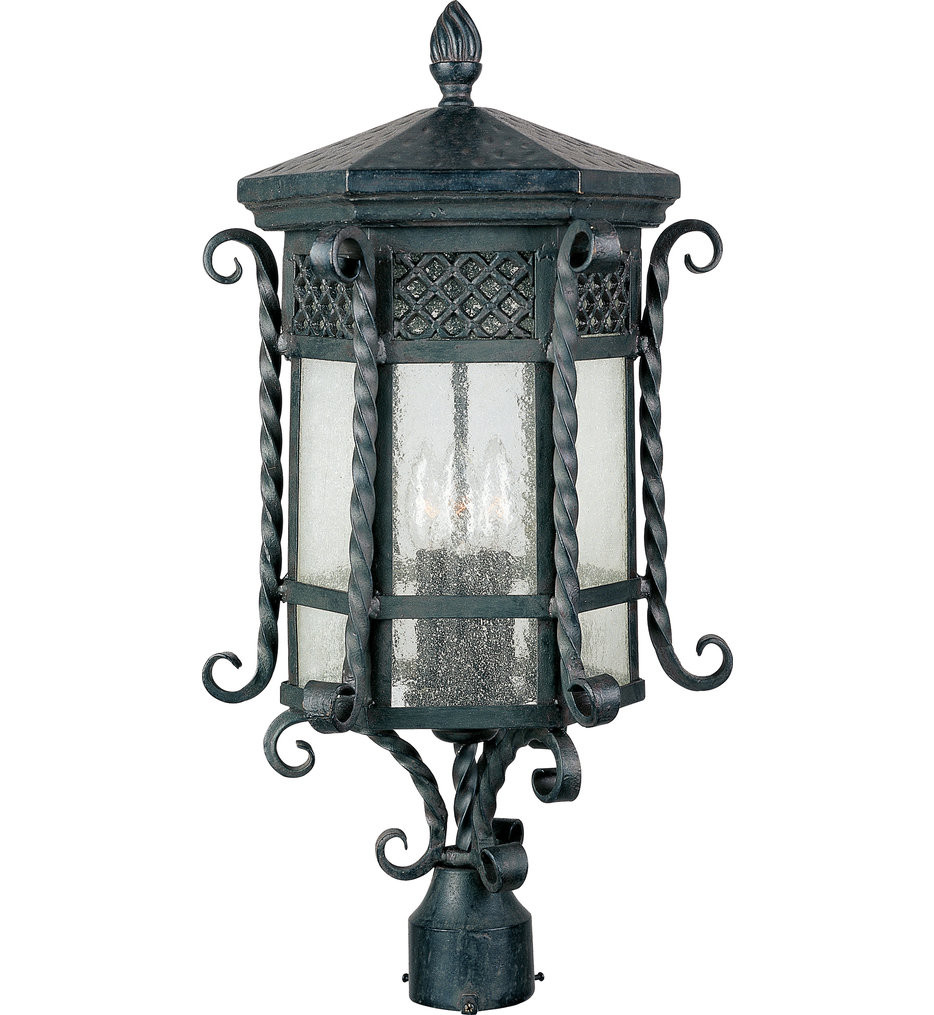 Maxim Lighting - 30120CDCF - Scottsdale Country Forge 22.5 Inch Outdoor Post Light