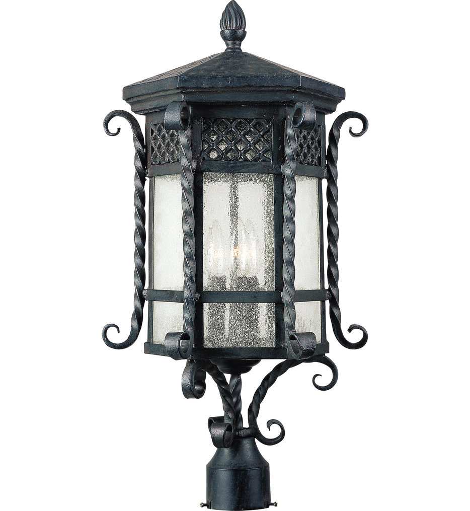 Maxim Lighting - 30121CDCF - Scottsdale Country Forge 25.5 Inch Outdoor Post Light