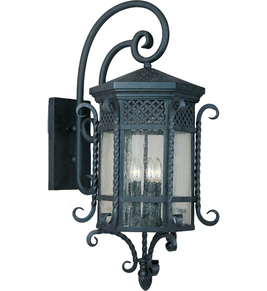 Maxim Lighting - 30126CDCF - Scottsdale Country Forge 5 Light Outdoor Wall Sconce