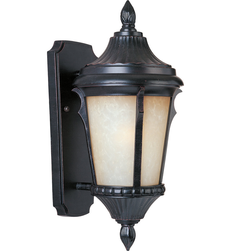 Maxim Lighting - Odessa Espresso 16 Inch Outdoor Wall Mount