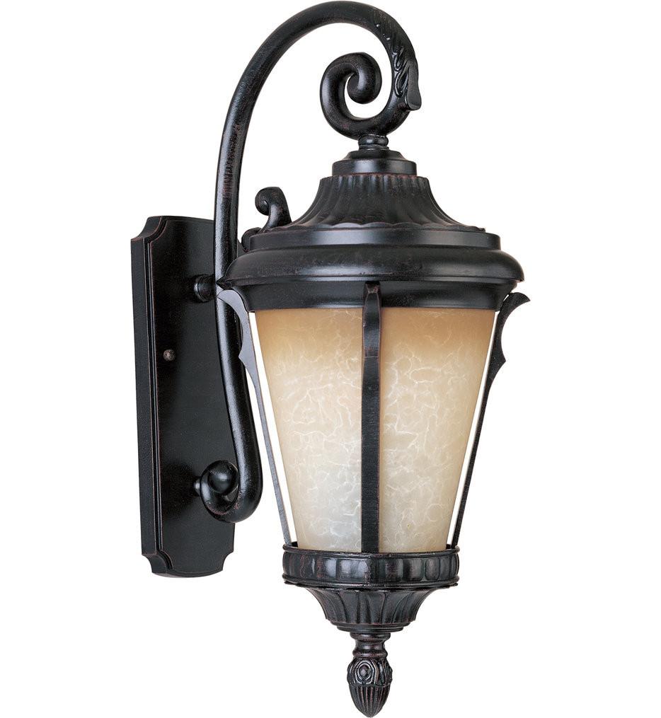 Maxim Lighting - Odessa Espresso 26.5 Inch Outdoor Wall Mount