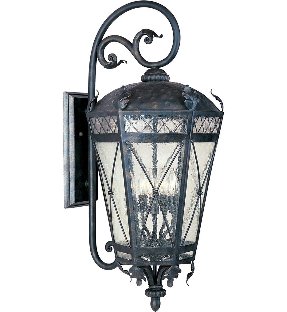 Maxim Lighting - 30456CDAT - Canterbury 3 Light Outdoor Wall Lantern