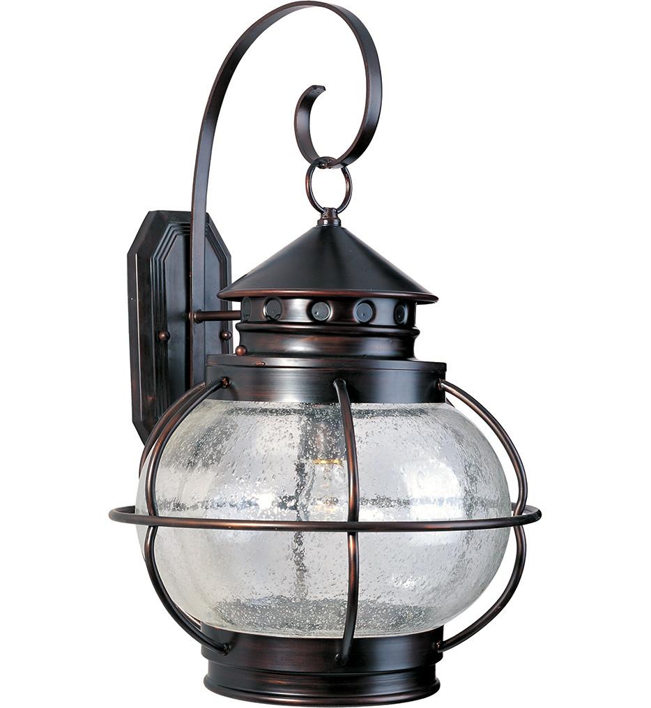 Maxim Lighting - 30504CDOI - Portsmouth 1 Light Outdoor Wall Lantern