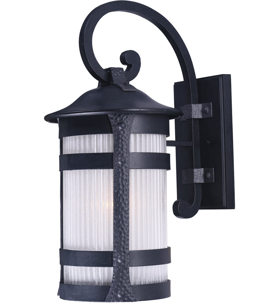 Maxim Lighting - Casa Grande Anthracite 17 Inch 1 Light Outdoor Wall Mount