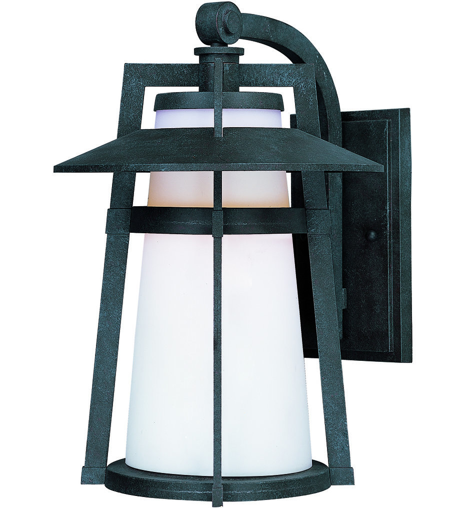 Maxim Lighting - Calistoga Adobe 12.5 Inch Outdoor Wall Mount