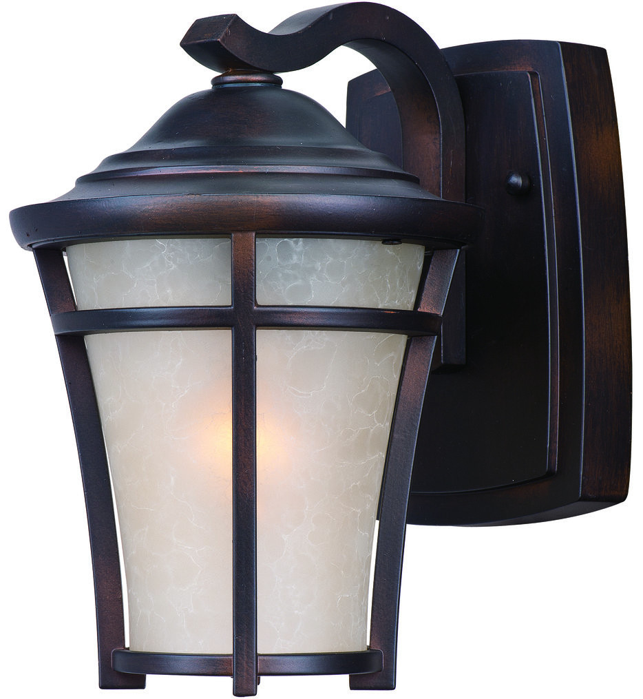 Maxim Lighting - 3802LACO - Balboa Copper Oxide 9.5 Inch Incandescent Outdoor Wall Mount