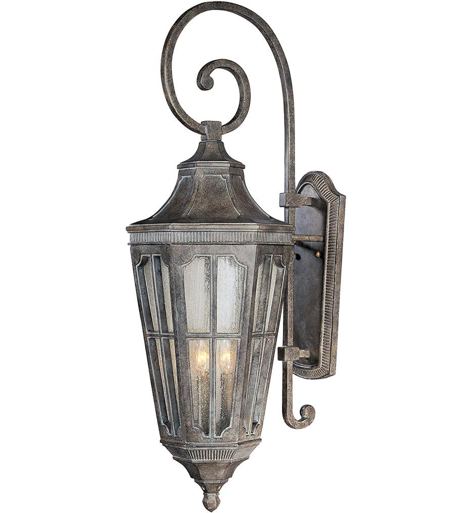 Maxim Lighting - 40155CDSE - Beacon Hill Vivex 3 Light Outdoor Wall Lantern