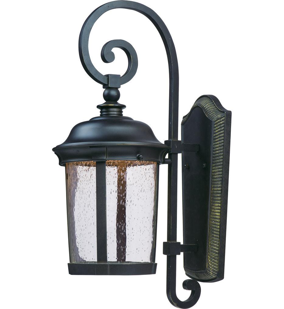 Maxim Lighting - 55024CDBZ - Dover Bronze 25.5 Inch 1 Light LED Outdoor Wall Sconce